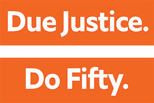 Do Justice. Do Fifty.